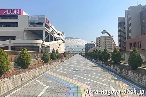 大曽根駅からナゴヤドームへの行き方(徒歩・JR南口)05