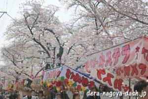 [五条川]岩倉桜祭りの屋台