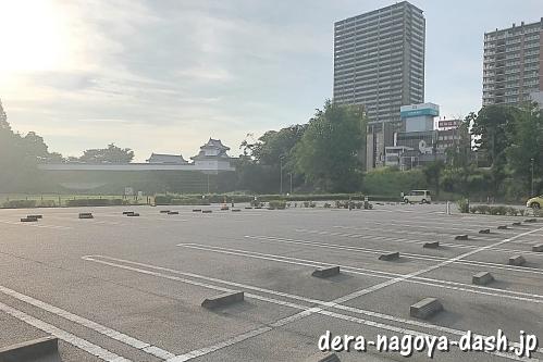 岡崎公園(岡崎城)駐車場