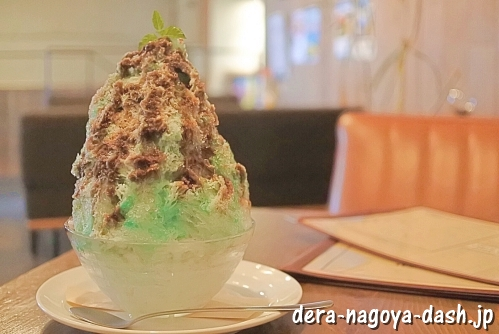 City Dining Macy's (メイシーズ) チョコミントかき氷