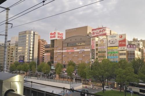 名古屋駅(新幹線ホームから西を望む)