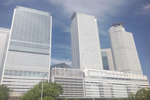 名古屋駅(ツインタワーとJRゲートタワー)
